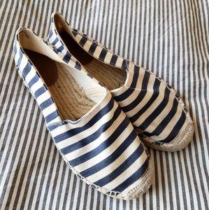 J. CREW Espadrille Stripe Sandals